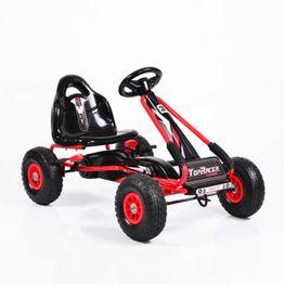 Παιδικό αυτοκινητάκι με πετάλια Go Cart TOP GA815 ΜΕ ΛΑΣΤΙΧΑ ΑΕΡΑ RED Cangaroo