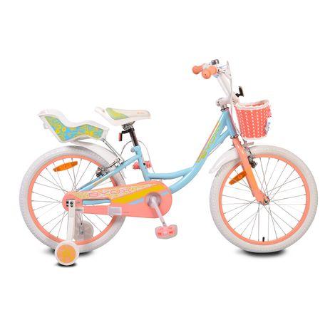 """Παιδικό ποδήλατο20"""" Fashion Girl blue Cangaroo"""