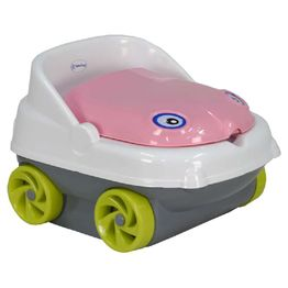 Γιογιό Κάθισμα Musical Car 73-185 Pink Bebe Stars
