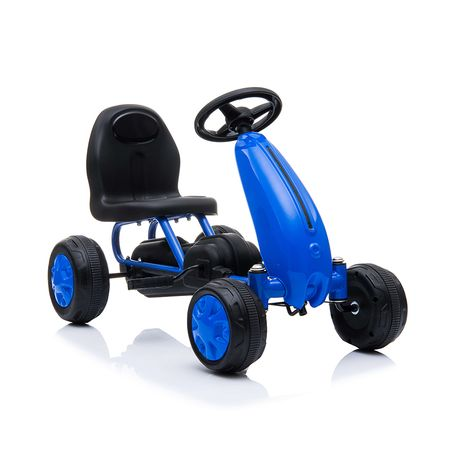 Παιδικό αυτοκινητάκι με πετάλια Go Cart Blaze Blue Moni