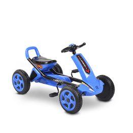 Παιδικό αυτοκινητάκι με πετάλια Go Cart Drift Blue plastic wheels Moni
