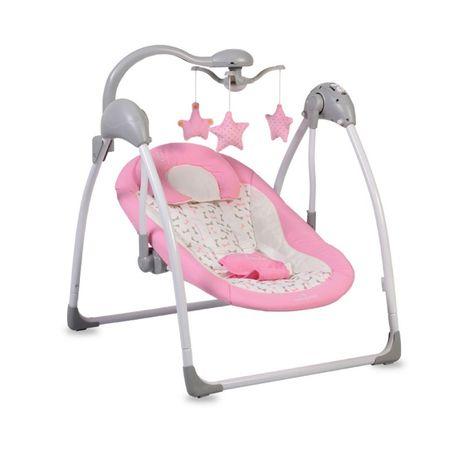 Ηλεκτρική κούνια - ρηλάξ Swing Jessie Pink Cangaroo
