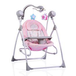 Ηλεκτρική Κούνια Ρηλάξ Swing Star Pink Cangaroo