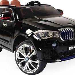 Ηλεκτροκίνητο Αυτοκίνητο 12V Jeep BMW M5X RD500 Eva Wheels Black Moni