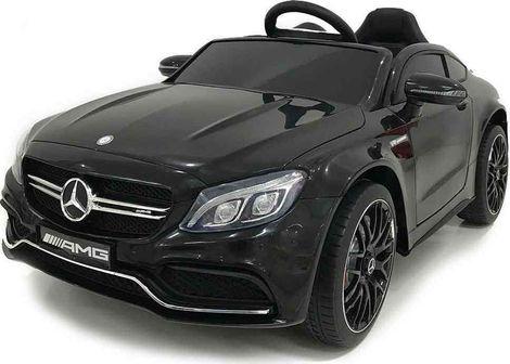 Ηλεκτροκίνητο Αυτοκίνητο 12V Mercedes Benz C63s QY1588 Black Moni
