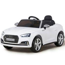 Ηλεκτροκίνητο Αυτοκίνητο AUDI S5 CABRIOLET HL258 12V White Cangaroo