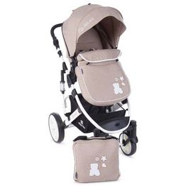 Καρότσι Kikka boo Beloved 2 in 1 Beige