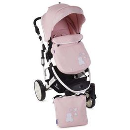 Καρότσι Beloved 2 in 1 Light Pink Kikka Boo