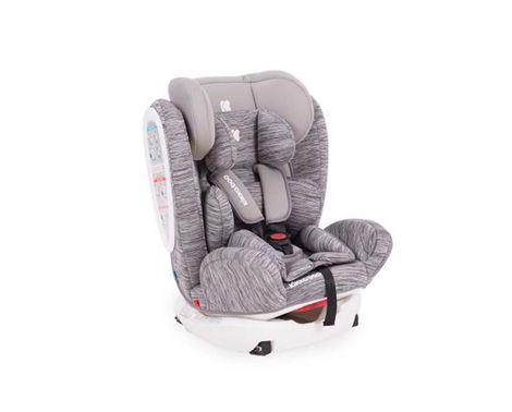 Κάθισμα Αυτοκινήτου 4 Fix Light Grey 0+/1/2/3 0-36kg Kikka Boo