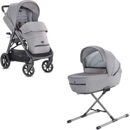 System DUO Aptica Silk Grey Inglesina