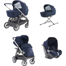 System Aptica Quattro Portland BLue Full Kit with car seat Cab Inglesina