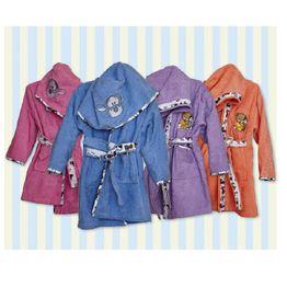 Klotsotiras Παιδικό Μπουρνούζι ΡΕΛΙ Μέγεθος 4 Ετών Purple
