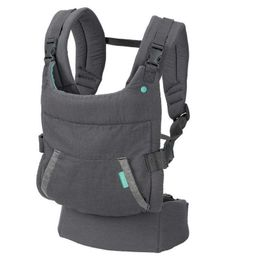 Μάρσιπος Cuddle Up Ergonomic Hoodie Grey Infantino