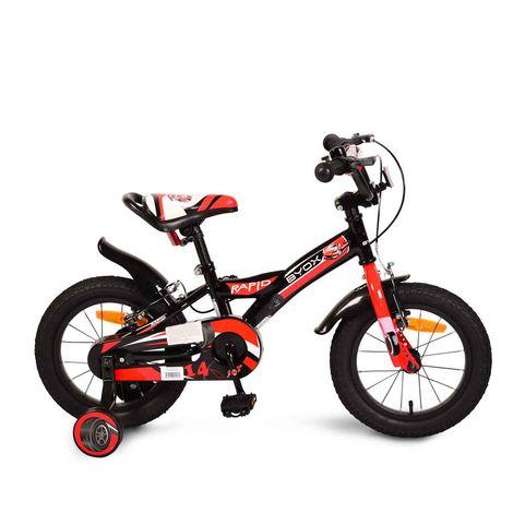 """Παιδικό ποδήλατο Rapid 14"""" Black Byox"""