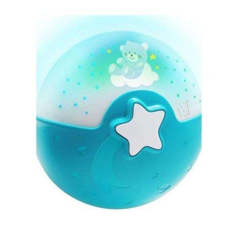 Μουσικός προβολέας με αισθητήρα ήχου Wom Soothing Light & Projector Blue Infantino