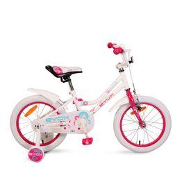 Παιδικό Ποδήλατο 16″ Little Princess white Byox
