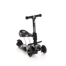 Πατίνι Smart Scooter με κάθισμα Black Flash Lorelli