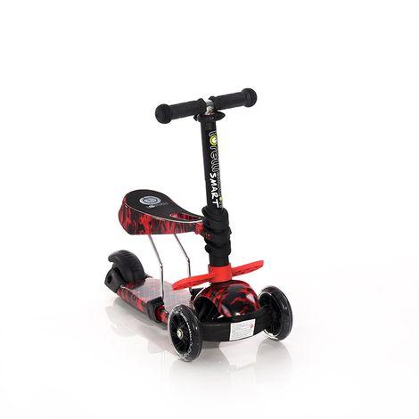 Πατίνι Smart Scooter με κάθισμα Red Fire Lorelli
