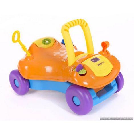 Στράτα Περπατούρα Ride-On 2 in 1 Orange Kikka Boo
