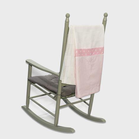 Πικέ κουβέρτα 100*150 carousel ροζ Abo
