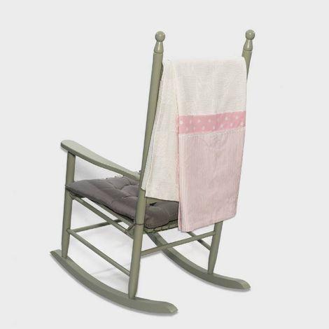 Πικέ κουβέρτα 100*150 elephant ροζ Abo
