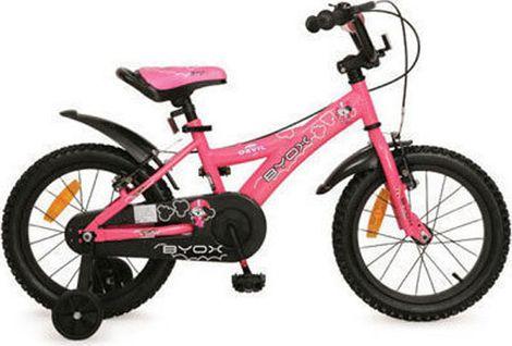 """Παιδικό Ποδήλατο Devil 16"""" Pink Byox"""