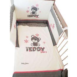 Προίκα Μωρού 4 τεμ. Teddy Flower 3010 Bebe Stars