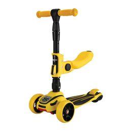 Scooter Roadster 3 σε 1 Yellow Kikka Boo