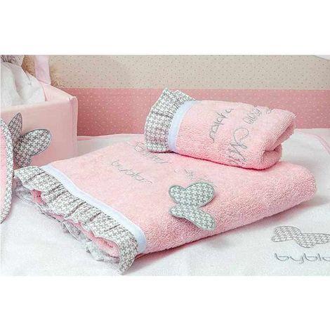 Byblos boys & girls Βρεφικές Πετσέτες Σετ 2τμχ Tesoro Mio Design 84 80-8260/84 30X50 70X140