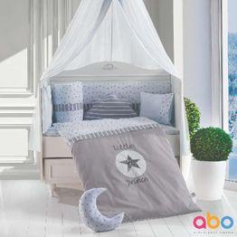 Σετ προίκας 9τμχ 70X140 Little Prince Grey ABO