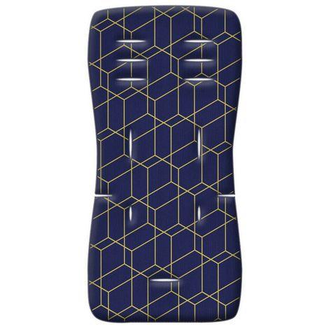 Στρωματάκι καροτσιού Memory Foam Honey Comb μπλε Greco Strom