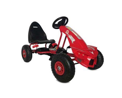 Παιδικό Αυτοκινητάκι Go Kart The Best with Air Wheels A-18 Red Cangaroo