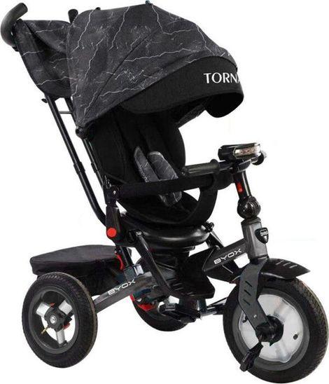 Τρίκυκλο Ποδήλατο Tornado με μουσική και φωτάκι, Dark Grey Byox