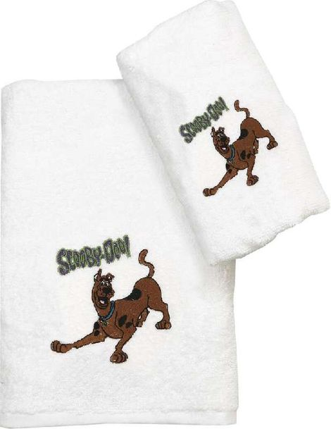 Viopros Παιδικές Πετσέτες Πετσέτα Προσώπου 50X80 Scooby Doo Λευκό