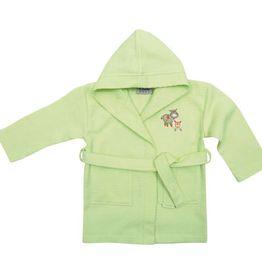 Βρεφικό Μπουρνουζακι με μανίκι No4 Das home Baby Smile Embroidery 6389 Das Home Βρεφική Κάπα Μπουρνούζι