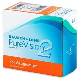 PureVision 2HD for Astigmatism Μηνιαίοι (6 Φακοί)