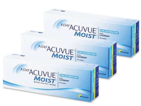 1 Day Acuvue Moist for Astigmatism (90 φακοί)