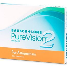 PureVision 2HD for Astigmatism Μηνιαίοι (3 Φακοί)