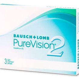 PureVision 2 HD Μηνιαίοι (3 φακοί)