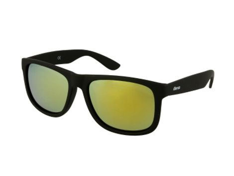 Sunglasses Alensa Sport Black Gold Mirror