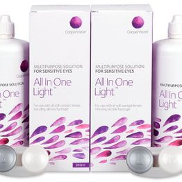 Υγρό All In One Light 2 x 360 ml