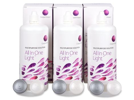 Υγρό All In One Light 3 x 360 ml