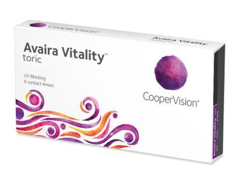 Avaira Vitality Toric Αστιγματικοί Μηνιαίοι (6 φακοί)