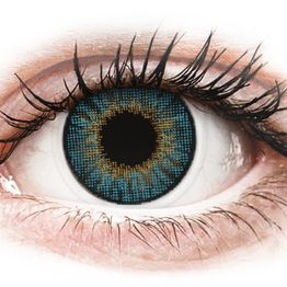 Air Optix Colors - Blue - Διοπτρικοί Μηνιαίοι φακοί επαφής (2 φακοί)