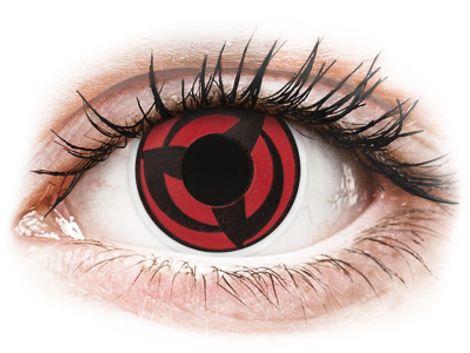 ColourVUE Crazy Lens - Kakashi - Μη διοπτρικοί Ετήσιοι φακοί επαφής (2 φακοί)
