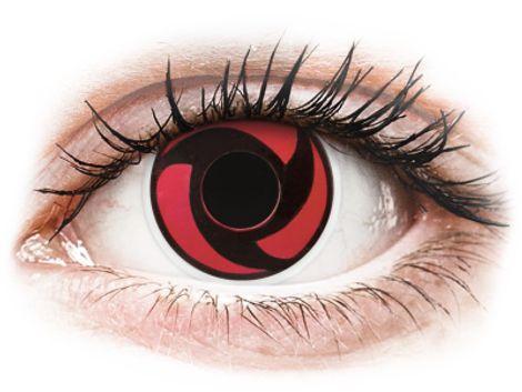 ColourVUE Crazy Lens - Mangekyu - Μη διοπτρικοί Ετήσιοι φακοί επαφής (2 φακοί)