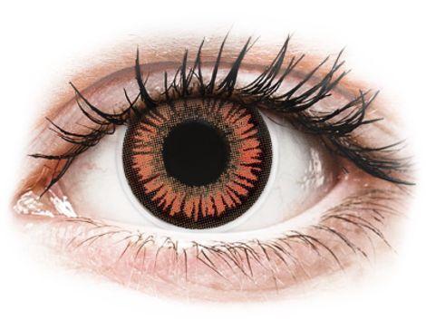 ColourVUE Crazy Lens - Vampire - Μη διοπτρικοί Ετήσιοι φακοί επαφής (2 φακοί)