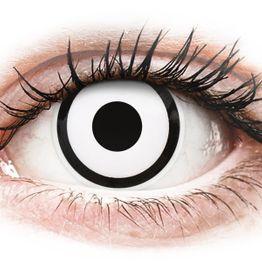 ColourVUE Crazy Lens - White Zombie - Μη διοπτρικοί Ετήσιοι φακοί επαφής (2 φακοί)
