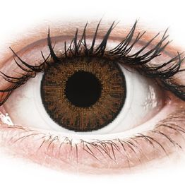 TopVue Color daily - Brown - Μη διοπτρικοί Ημερήσιοι φακοί επαφής (10 φακοί)