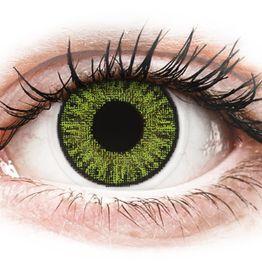 TopVue Color daily - Fresh green - Διοπτρικοί Ημερήσιοι φακοί επαφής (10 φακοί)